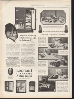 1925 LEONARD REFRIGERATOR APPLIANCE GRAND RAPID KITCHEN