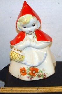 Vintage Hull Little Red Riding Hood Cookie Jar