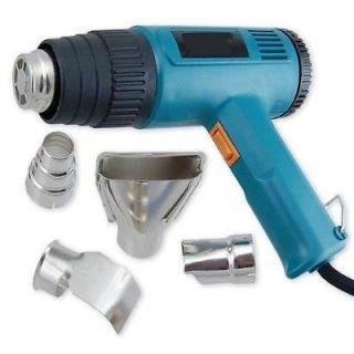 Dual Temperature Heat Gun w/ Accessories Shrink Wrapping 572F 1652F