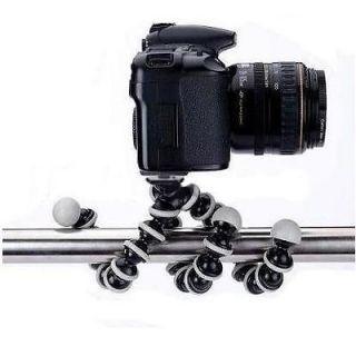 New Large Flexible Tripod Holder Stand Bubble For SLR DSLR DV Camera