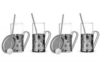 Premier Housewares 12 Piece Bean Irish Coffee Set includes 4 Mugs/4