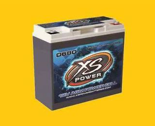 Deep Cycle 12 Volt 12V AGM Power Cell Battery D680 Brand New 1000 amps