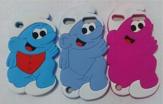 Lovely Smurfs Style Hard SKIN CASE COVER FOR IPOD TOUCH 4 4G 4TH GEN