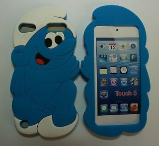 5X WHOLESALE SMURFS iPod Touch 4 4G 4th Gen Back Cases Covers