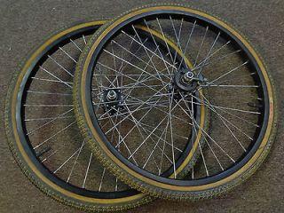 Araya Vintage Used 20 x1 3/8 Wheel Set Bmx Bike Sunshine Sealed