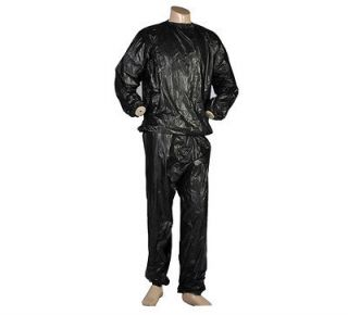 SAUNA SWEAT SUIT SET  LOSE SHED FAT WEIGHT FAST LOSS BOXING RUNNING
