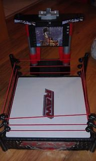 WWE MATTEL LIGHTS AND SOUND WRESTLING RING ENTRANCE RAMP WWF RYBACK