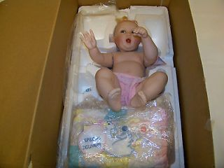 Special Delivery Porcelain Baby Doll Ashton Drake Galleries NEW