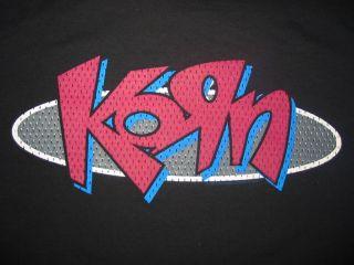 Black M tee t shirt Korn band tour rock concert rock cd