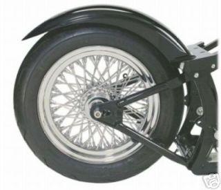 SABERTOOTH ~STRUTLESS WIDE 180mm TIRE 8 5/8 FENDER ~ Harley WIDE
