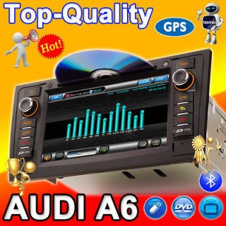 AUDI A6 S6 Car GPS Navigaion DVD Player Radio Auo 3G RDS In Dash PiP