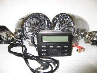 shark SHKLXMT723SPKH ARLEY Waterproof Motorcycle FM radio w/ harley 3
