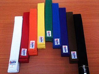 Martial Arts Belt, Karate Taekwondo Judo Jiu jitsu Size 2.8M & 2.5M 5