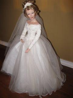 1260 NWOT ASHTON DRAKE SPRING PROMISE Porcelain Bride Doll SANDRA