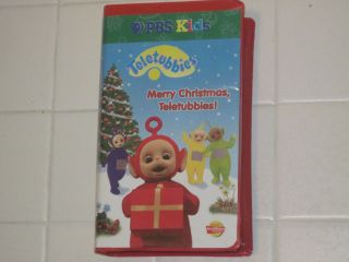 PBS Kids TELETUBBIES VHS MERRY CHRISTMAS TELETUBBIES