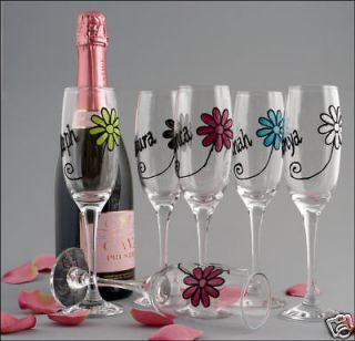 Personalised 18th 21st Birthday Girl Gift Wine Glass