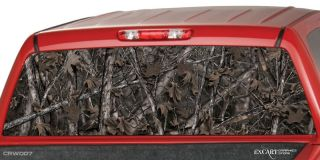 Camo Woodland Ghost Rear Window Hunting Graphics Truck
