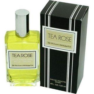 Tea Rose for Women by Perfumers Workshop EDT Spray 4.0 oz ~ BRAND NEW