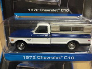 Midnight Edition 1972 Chevrolet C10 Pickup Truck With Camper Shell