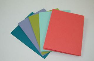 Stampin Up In Colors 2012 Greeting Card Blanks Timesaver Buy 10 Pks