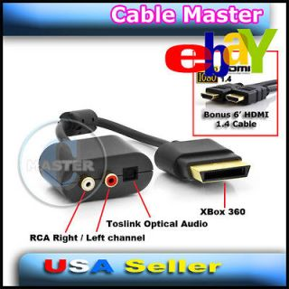 Newly listed RCA AUDIO ADAPTER CONNECTOR CABLE FOR MICROSOFT XBOX 360