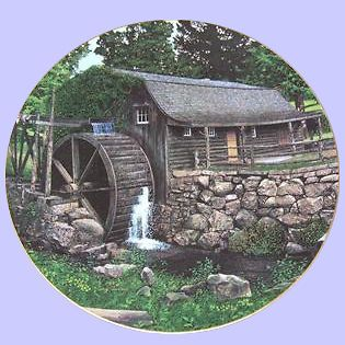 Knowles New London Grist Mill by CRAIG TENNANT The old mill stream