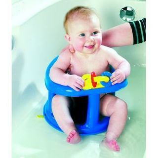 Safety 1st First Tubside Swivel Baby Bath Seat Tub Ring