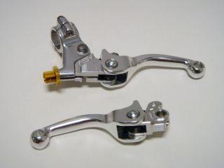 ASV F1 SHORTY Brake & Clutch Levers Kit Pair Pack Honda CR CRF XR
