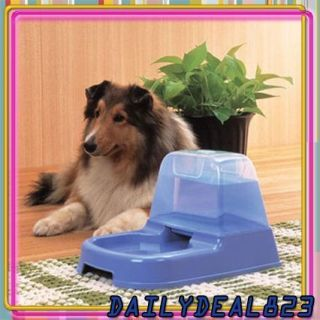 Pet Dog Cat Automatic Water Dispenser Dish Bowl Feeder