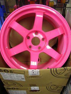 ROTA Wheels Grid IKR 17x9 (5x114.3+25mm, 73 Hub, Highlight Pink) 4
