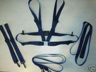 Adult Baby Sissy Nursery Harness Reins and Leash Set