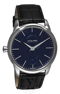Azzaro Mens Legend Black Strap Watch AZ2060.12BB.000