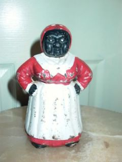aunt jemima cast iron bank