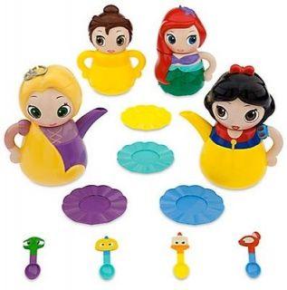 PRINCESS Q Tea PLAY Set SNOW WHITE Ariel BELLE Rapunzel