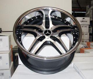 20 Euromag EM2 Wheels Mercedes Benz SL CLS 500 550 AMG Audi A5 S5