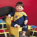 Lee Middleton * Start Your Engines * Future Nascar Baby Boy Doll