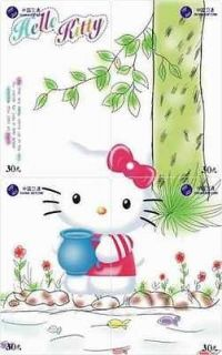 H01026 China phone cards Hello Kitty puzzle 48pcs