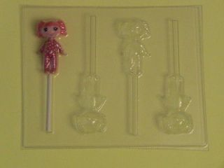 LALALOOPSY Baby Doll Girl Chocolate Candy Soap Clay Lollipop Mold NEW