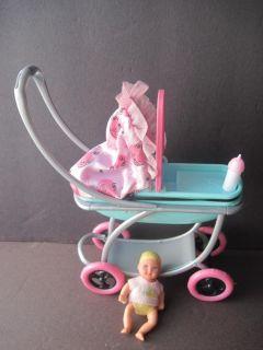 mattel Barbie baby Krissy doll & stroller