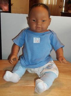 Baby Boy 1996 Ethnic Baby Think It Over Doll ( 18  Long)    NICE