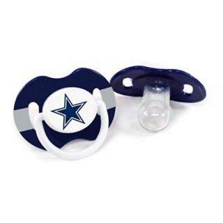 New NFL Dallas Cowboys Baby Infant Pacifier Set