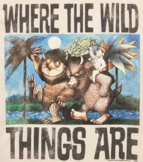 WHERE THE WILD THINGS ARE****FABRIC/ T SHIRT IRON ON TRANSFER