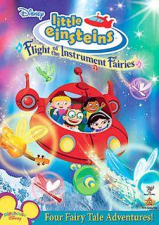 Disneys Little Einsteins Flight of the Instrument Fairies (DVD, 2008