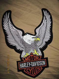 Harley Davidson American Bald Eagle Jacket patch