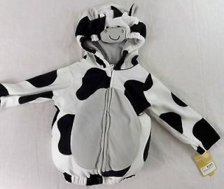 Infant Toddler Halloween Costume Cow 12 Months Boy Girl Carters Plush