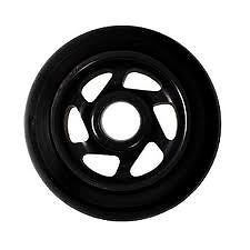 PHOENIX Scooter Wheel   INTEGRA   6 SPOKE   PRO SCOOTER WHEEL   BLACK