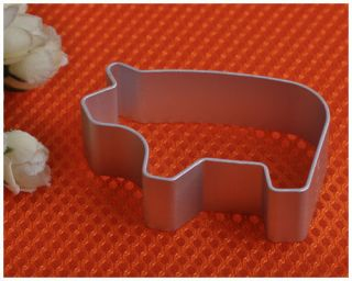 PIG Cookie Dessert Cake Sugar Craft Metal Cutter Tin Baking Mould