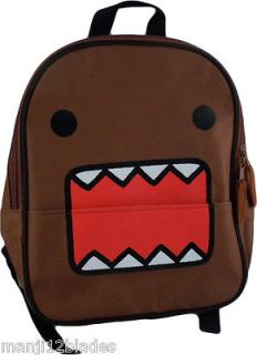 Domo Kun Domo Big Face Mini Backpack New W/ Tag Officially Licensed