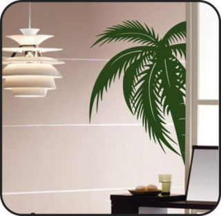 Large PALM TREE Vinyl Wall Decal Sticker Art lettering