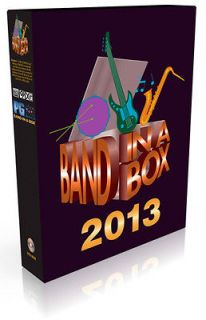 PG Music Band in a Box Audiophile Version 2013 Windows PC on 1TB hard